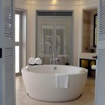 We loved this gorgeous bathroom!