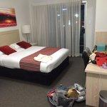 Bedroom in the Sherwood Suite