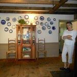 Innkeeper Marilee in entrance hall