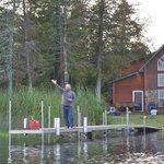 cabin 6 boat dock