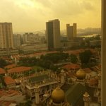 View from the room over Kampong Glam