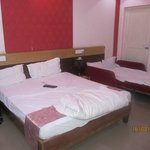 Double bed with Extrabed
