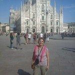 Fachada en la Piazza del Duomo
