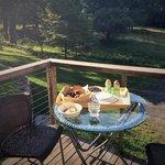 Amazing breakfast at Retreat at Treegap