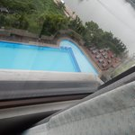 pool and river view