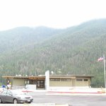 Earthquake Lake Visitor Center-Montana.