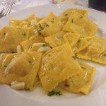 Tortelli aglio olio e peperoncino