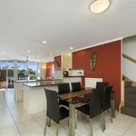 3 Bedroom Townhouse Dining, Kitchen & Living Room