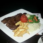 Excellent American T-Bone Steak. probably the best i ever had