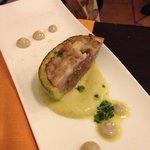Zucchina ripiena con tonno