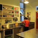kitchen. bigger than ur room.