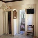 double room closet & bathroom