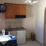 double room kitchenette
