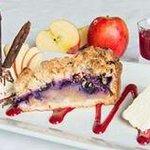Yummy Apple & blueberry pie