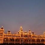Lighting in Mysore Palace