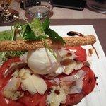 Salade tomates cœur de bœuf