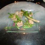 Foie gras cuit au barbecue