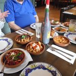 A selection of tapas for three !
