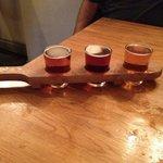 A bat of beer