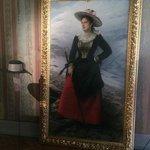 Ritratto della Regina Margherita conservato all'interno della sua stanza privata.
