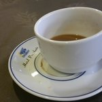 Coffee cup at Hotel Presidente