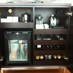 Comlimentary Coffee&Tea facilites and Rich minibar