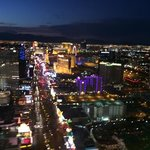 vegas strip (from helicopter)