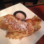 Side of French toast.
