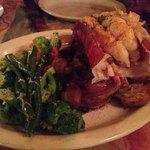 Especial langosta y steak (solomillo). Delicioso!!!!