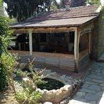 Mini Bahçe, Kitap okuma ve Tv İzleme alanı