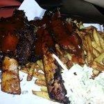 beefy ribs dinner (3 bones) $15,95