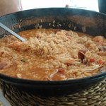 un arroz de marico buenisimo,q da para dos y para tres!!! q viene bastante,lo recomiendo,buena c