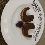 Cute little anniversary cake