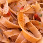 Bottarga, chef's pasta with the catch of the day