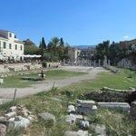 Общий вид римской агоры