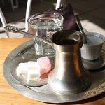 Caffè bosniaco...non ho foto dei Kaiserschmarren, sorry!