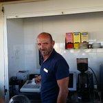 Evening waiter Christofer