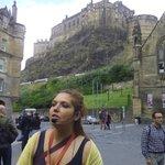 Eli y el Castillo de Edimburgo.