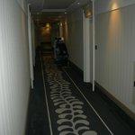 Il corridoio al piano