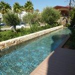 Pool at swim up rooms