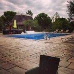superbe piscine du Mas