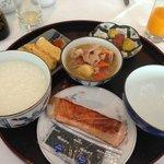日本食のモーニング