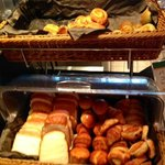 Breakfast breads selection
