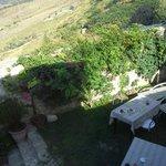 Colazione in cortile giardino interno