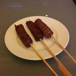 Beef Satay Club Lounge