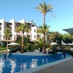 La piscine de l'Hôtel 5 étoiles