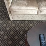 Buttons missing on couch and furniture in need of repair