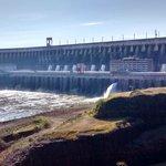 Vista de la represa