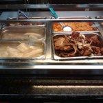 Yuca, Guineos, y carne