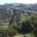 Spettacolare vista sul famoso viadotto